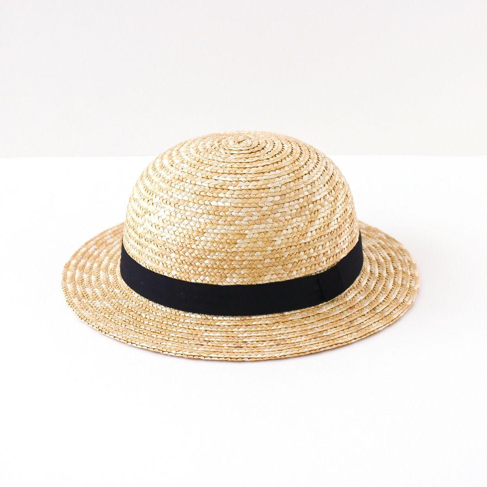 whip cream(ホイップクリーム) ベーシック麦わら帽 (48/50/52/54cm)