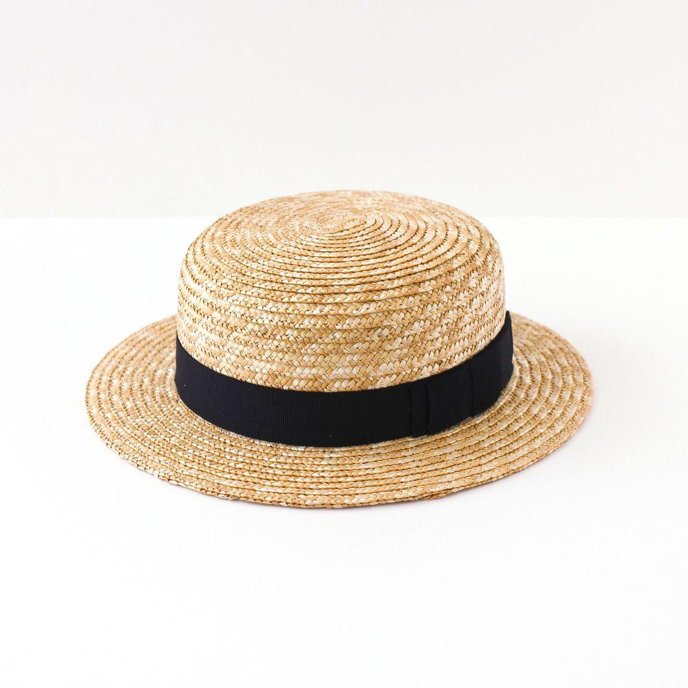 whip cream(ホイップクリーム) 麦わらカンカン帽 (50/52/54cm)
