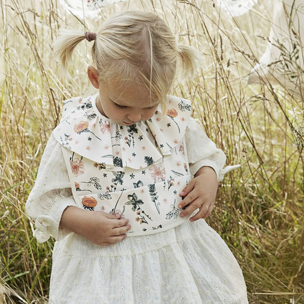 Elodie(エロディ) お食事エプロン Baby Bibs Meadow Blossom
