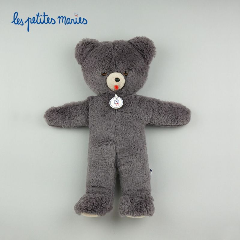 Les Petites Marie (レ・プティット・マリー) Ours Toinou GRIS 33cm